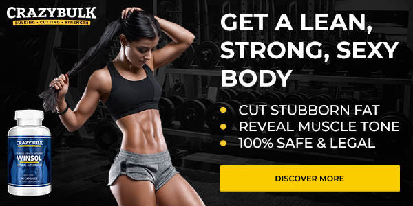 CrazyBulk Winsol Legal Winstrol Alternative For Women Review & Results