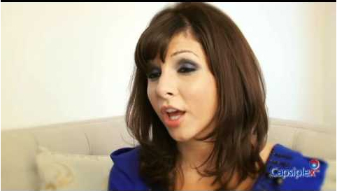 Roxanne Pallett Capsiplex Video