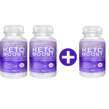 3 Bottles Ultra Fast Keto Boost