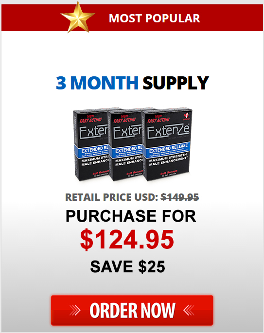 3 Month Supply Extenze